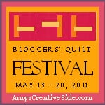Amy's Creative Side  Bloggers' Quilt Festival