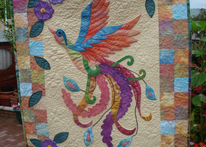 Featuring Rhianon — A Blogger's Quilt Festival Quilter!