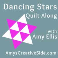Dancing Stars Quilt-Along -- AmysCreativeSide.com