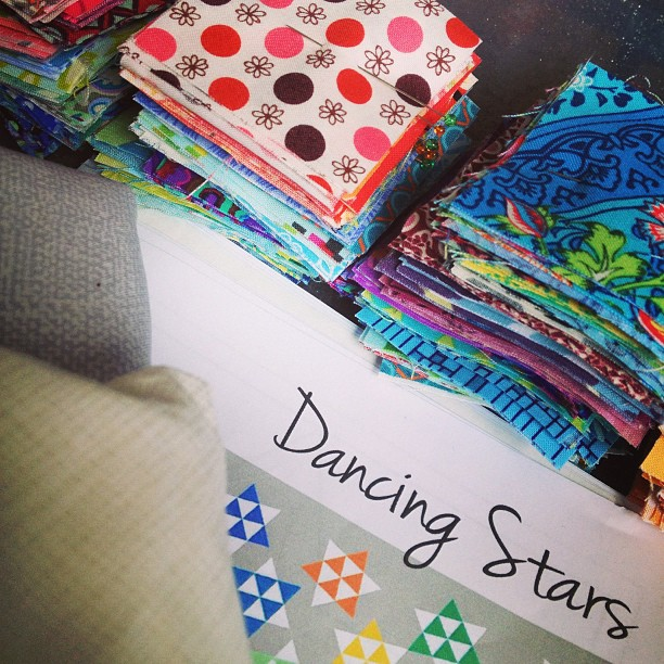 Dancing Stars Quilt-along AmysCreativeSide.com