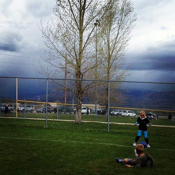 Spring Soccer - AmysCreativeSide.com