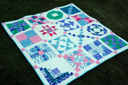 Simple Sampler Quilt-Along :: Finished!