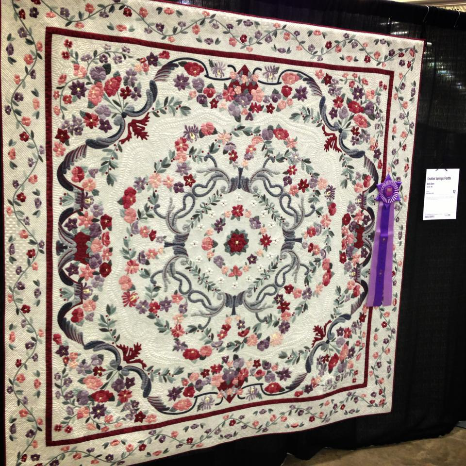 Quilt Expo Best in Show Winner