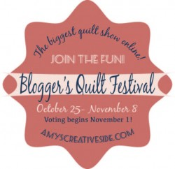 Blogger's Quilt Festival - AmysCreativeSide.com