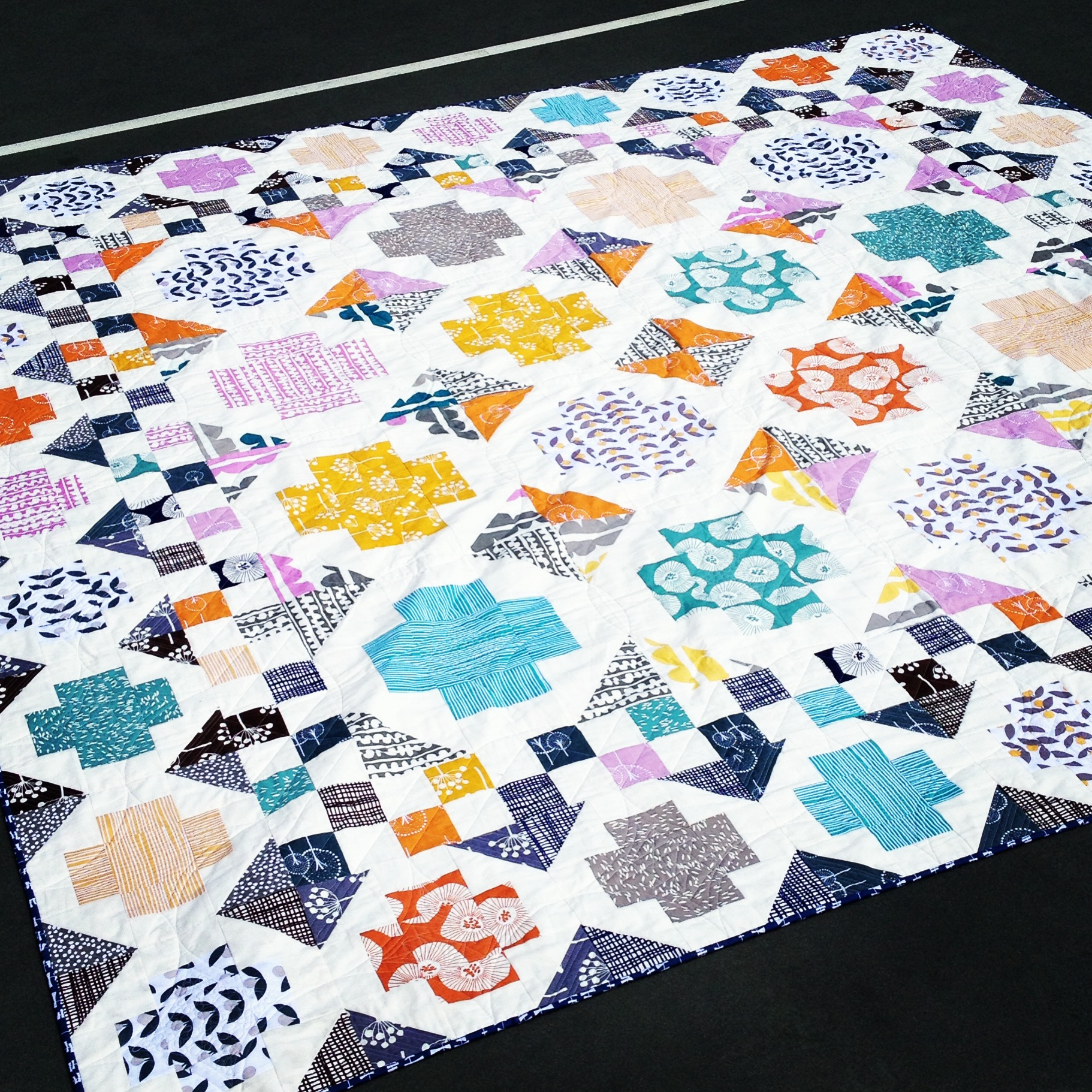 Wedding Quilt - AmysCreativeSide.com
