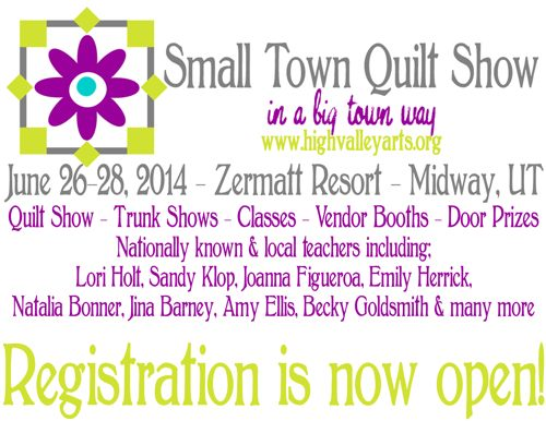 Small Town Quilt Show - AmysCreativeSide.com