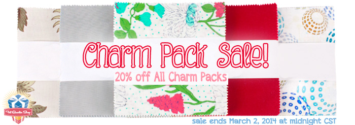 Charm Pack Cherry - AmysCreativeSide.com