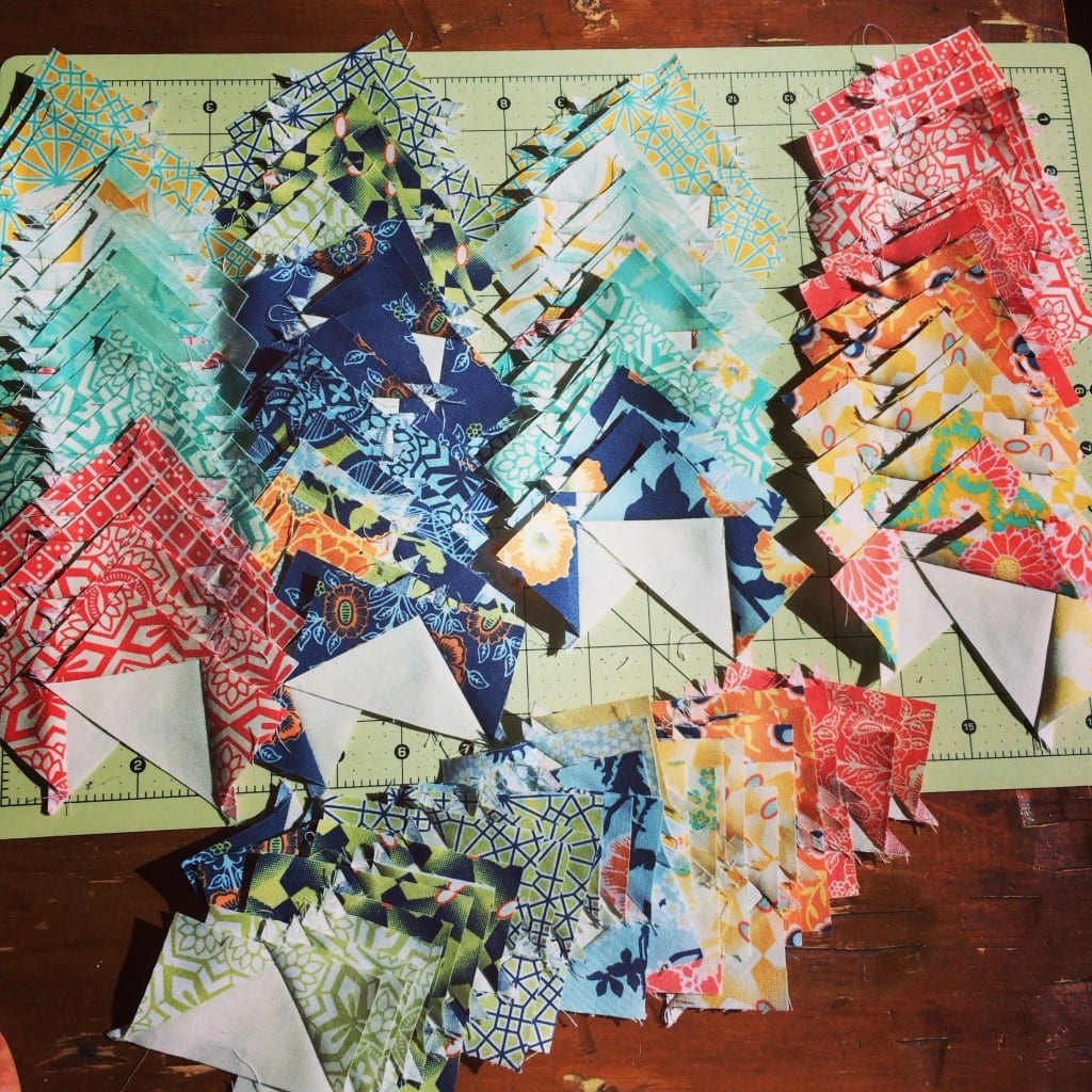 Botanique flying geese - AmysCreativeSide.com