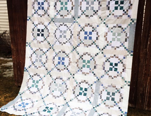 Tone It Down – Quilt Top