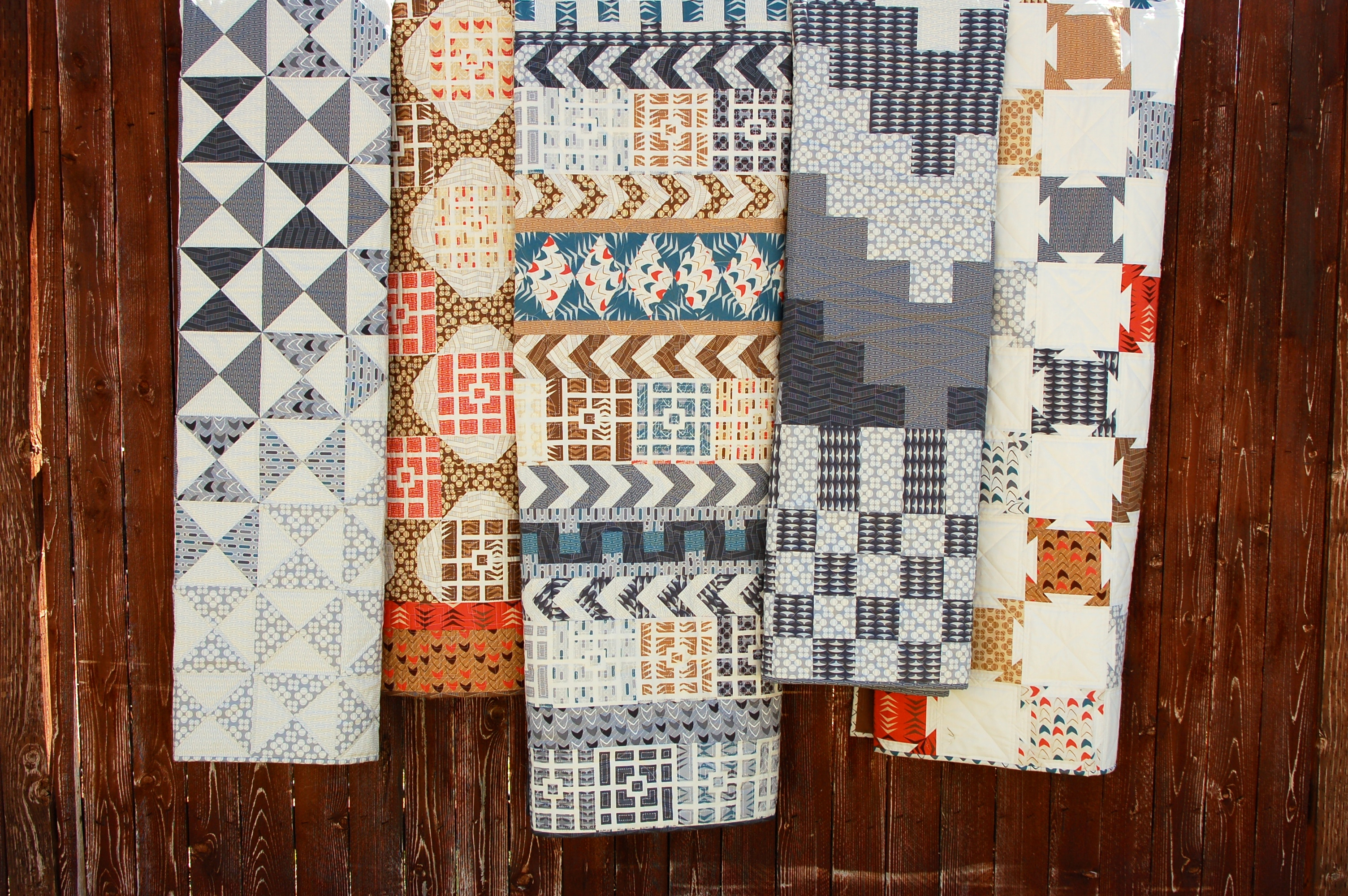 Modern Neutrals Quilts - AmysCreativeSide.com