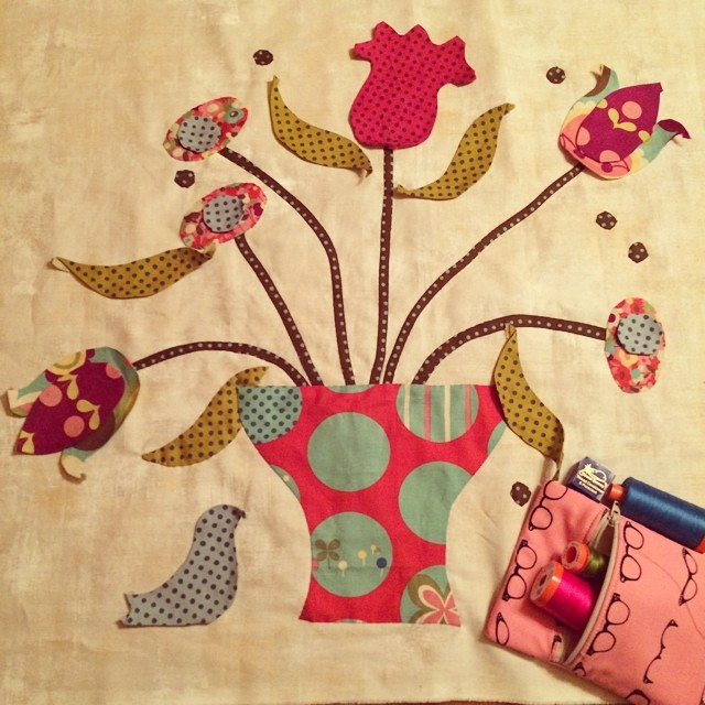 New Quilting Addiction :: Hand Appliqué