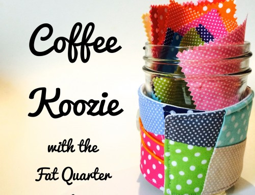 Coffee Koozie (tutorial & free pattern!)