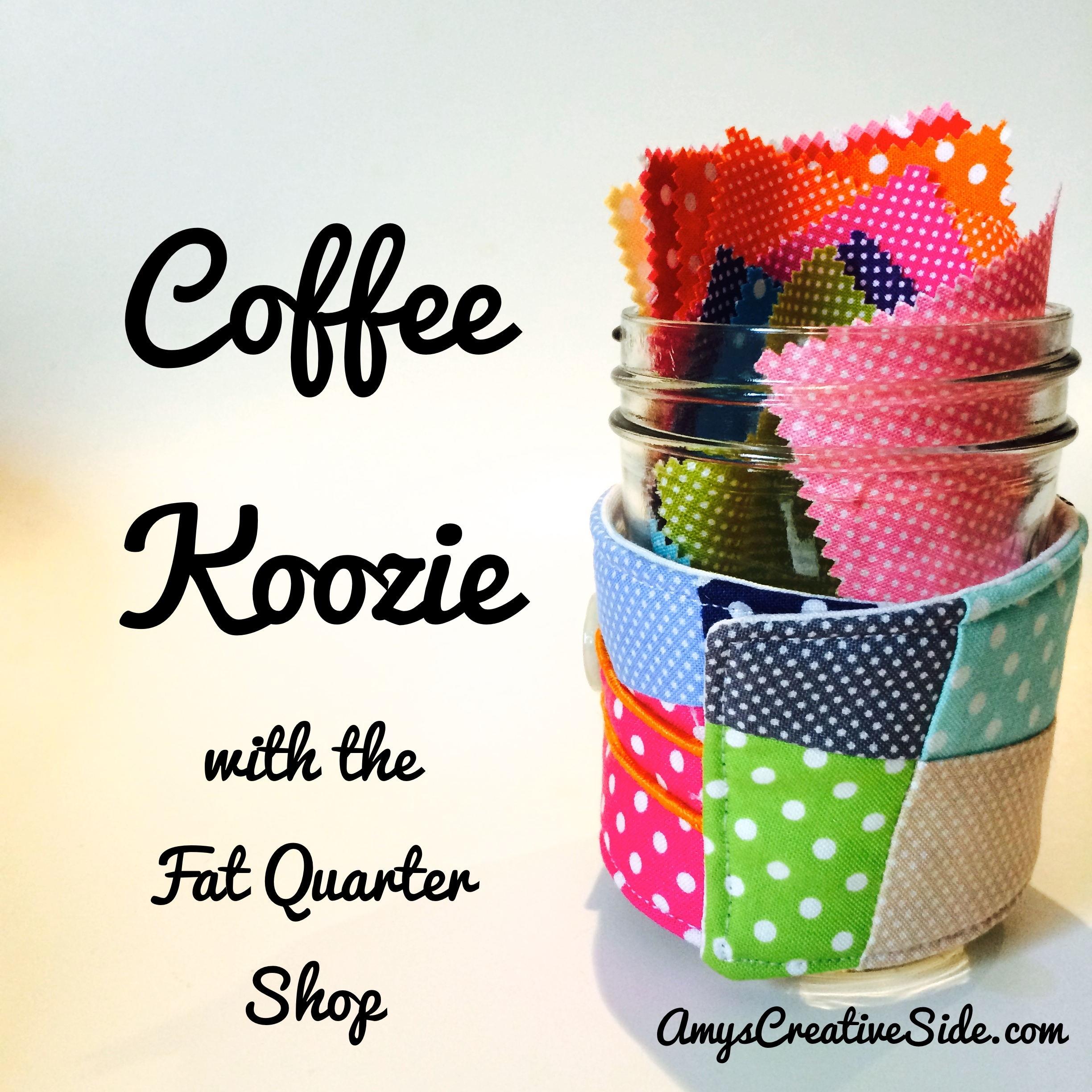 Coffee Koozie - AmysCreativeSide.com
