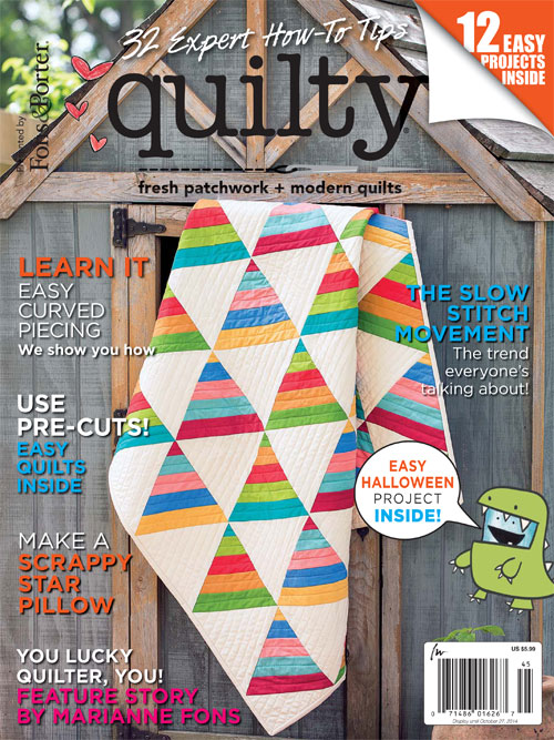 Quilty Sept/Oct 2014 - AmysCreativeSide.com