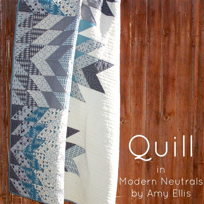 My Blogger's Quilt Festival Entry :: Quill