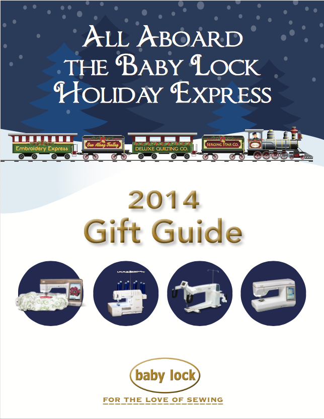 Baby Lock Gift Guide - AmysCreativeSide.com