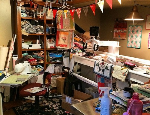 Current State of my Quilting Studio