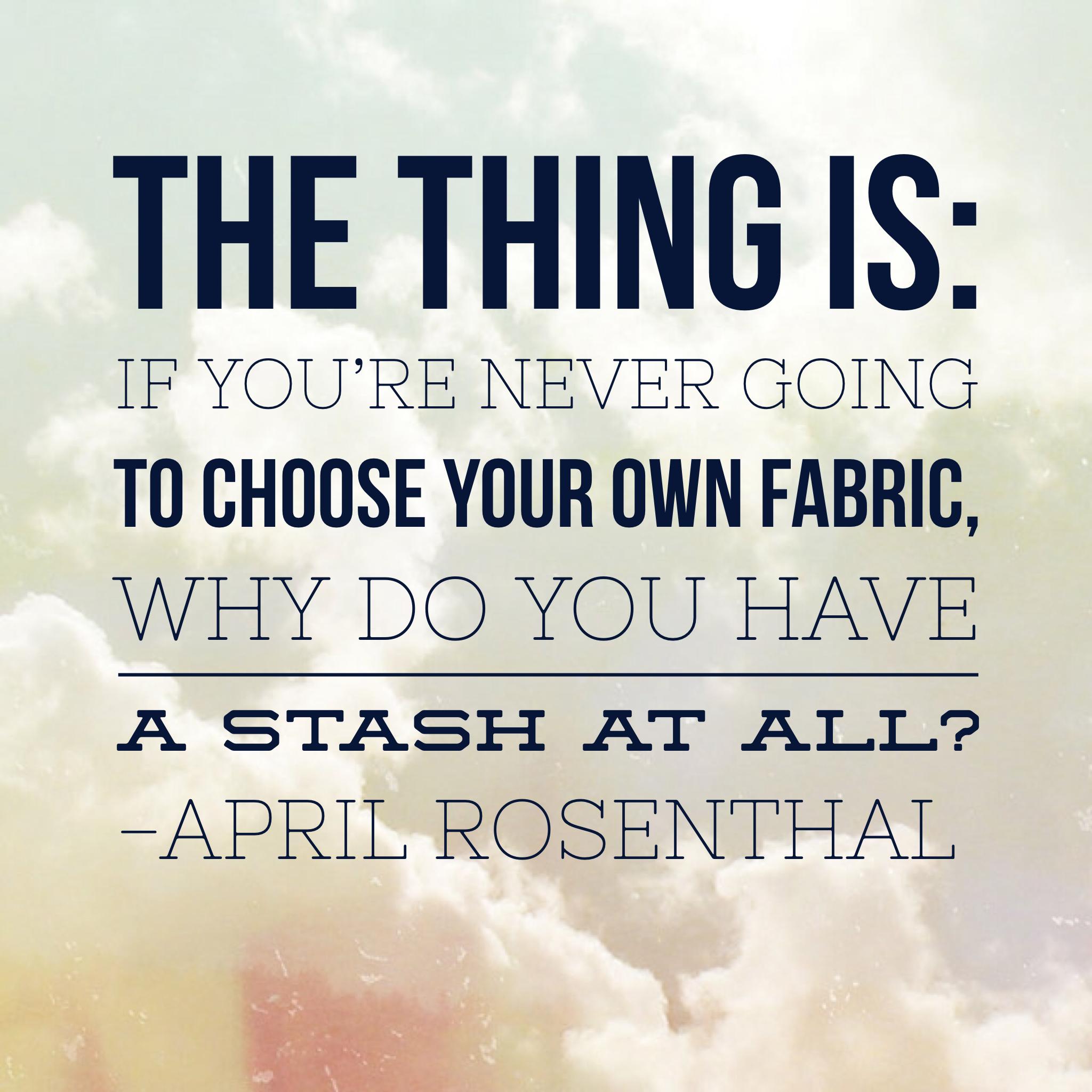 Quiltcast : Using your Fabric Stash - AmysCreativeSide.com