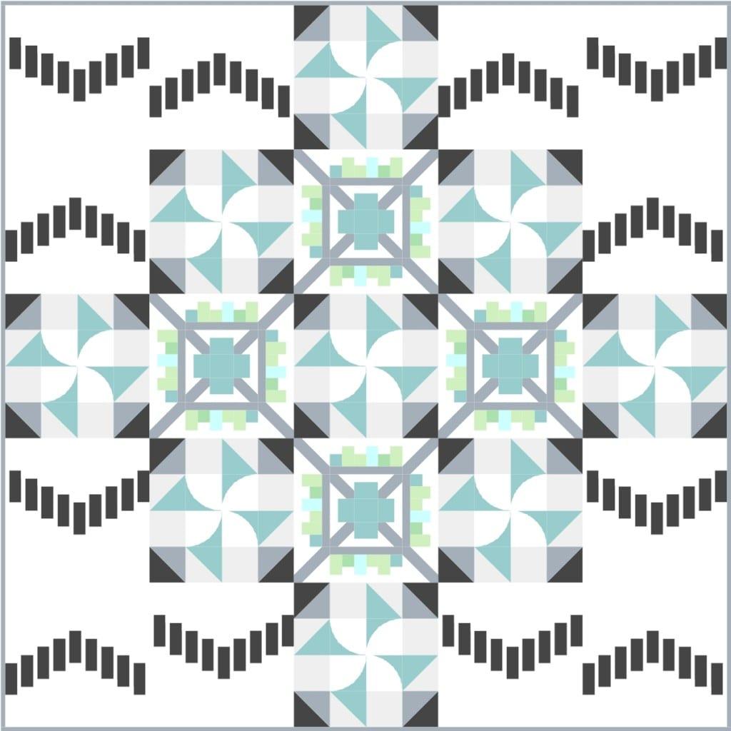 Think Big Quilt Along by Amy Ellis - AmysCreativeSide.com