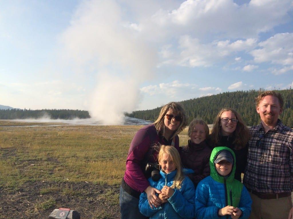 Yellowstone - Old Faithful - AmysCreativeSide.com