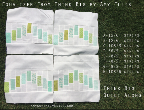 Think Big Quilt-Along : Equalizer Blocks