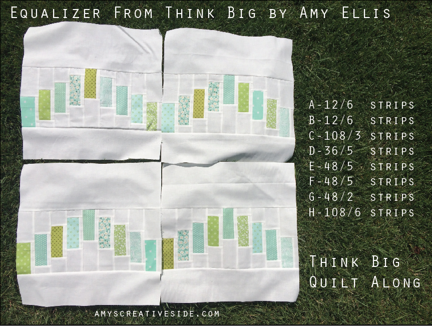 Equalizer - Think Big Quilt Along - AmysCreativeSide.com