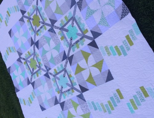 Think Big Quilt-Along : Quilted Quilt