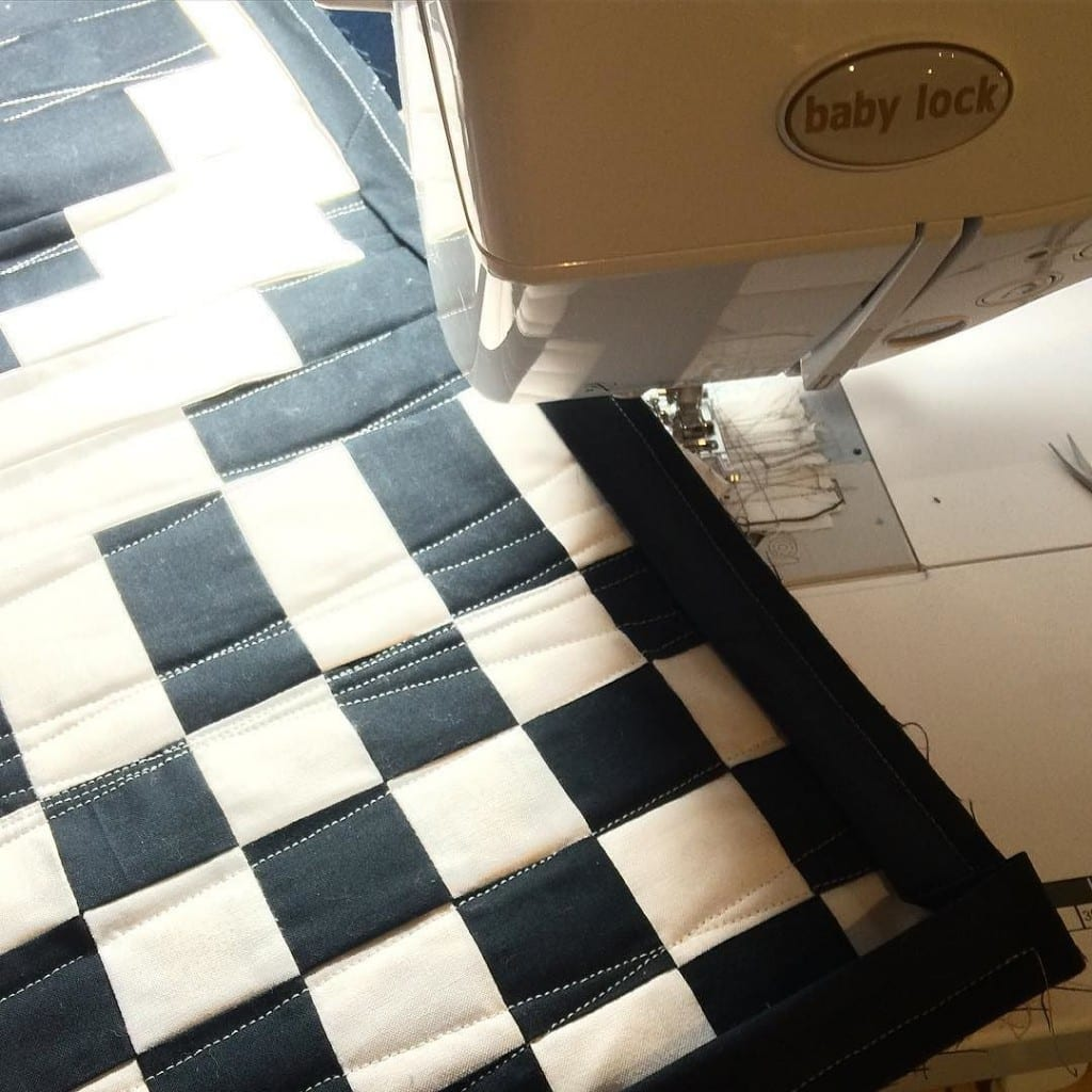 Fundamentals Baby Quilt by Amy Ellis - AmysCreativeSide.com