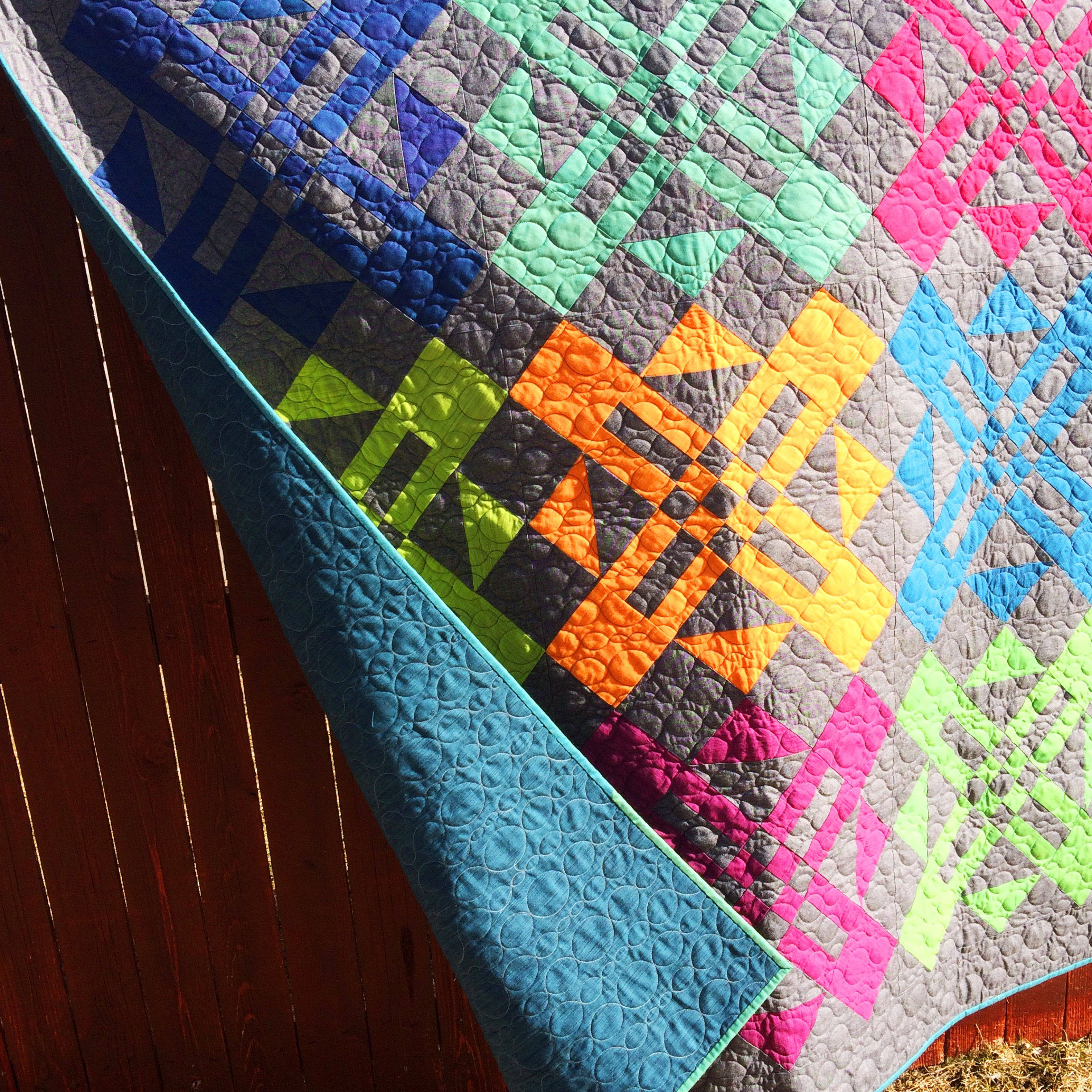 Cross Weave Turnstyle & Learn to Piece Quilts Like a Pro