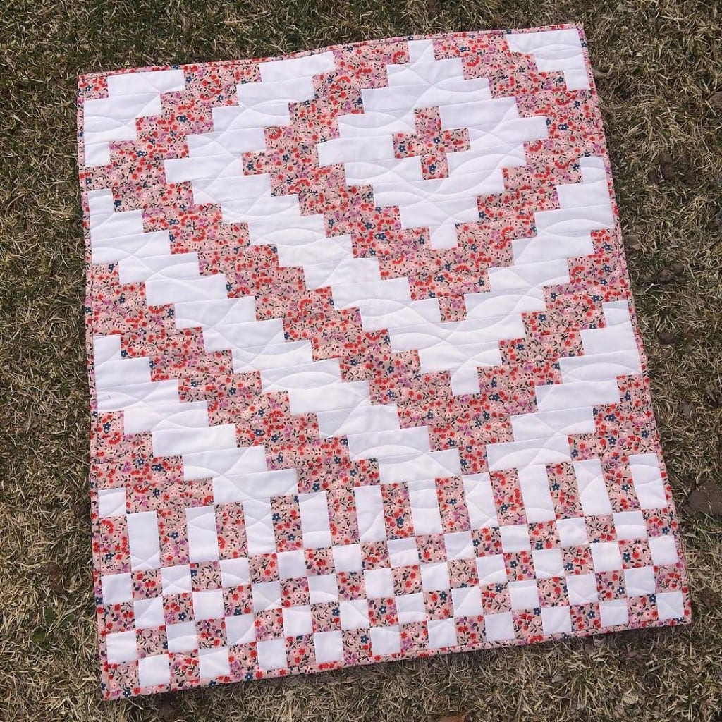 Fundamentals Quilt in Floral - AmysCreativeSide.com
