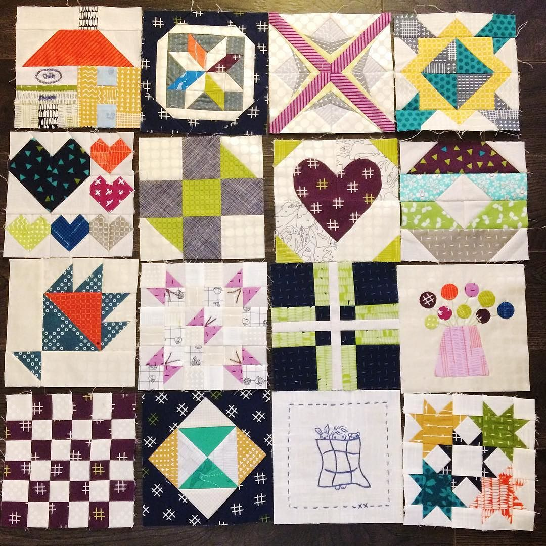 The Splendid Sampler – Free Block Patterns!