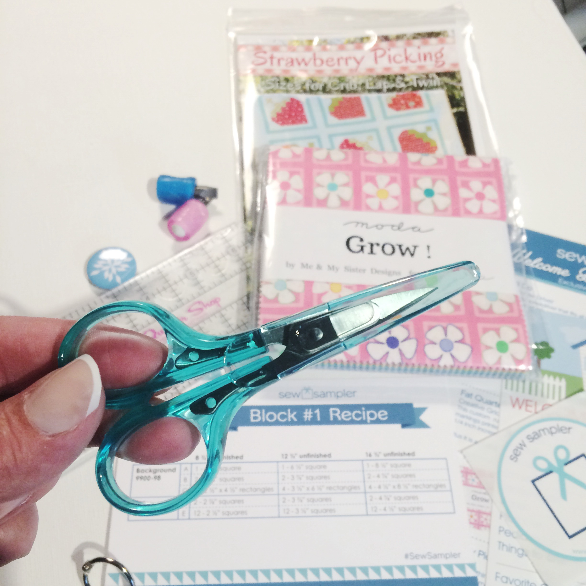 Sew Sampler: New Subscription Box