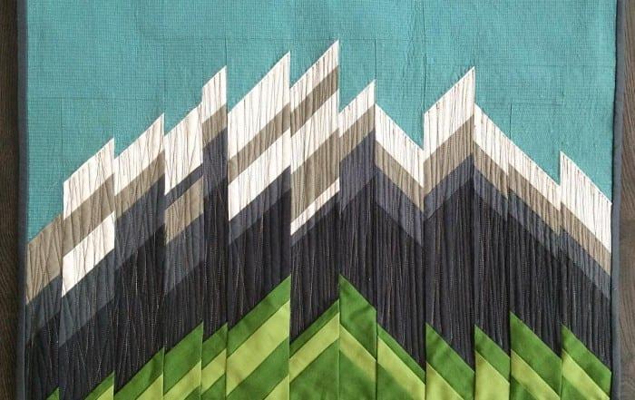 Quilts of Valor - Quilt Auction - Majestic Mountains by Amy Ellis - AmysCreativeside.com
