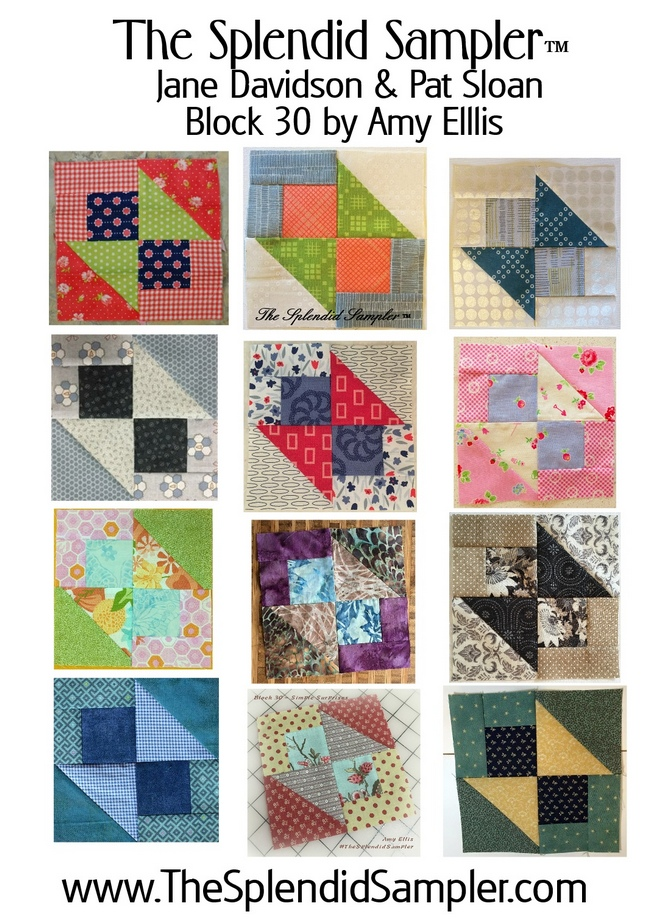 The Splendid Sampler Block :: Simple Surprises