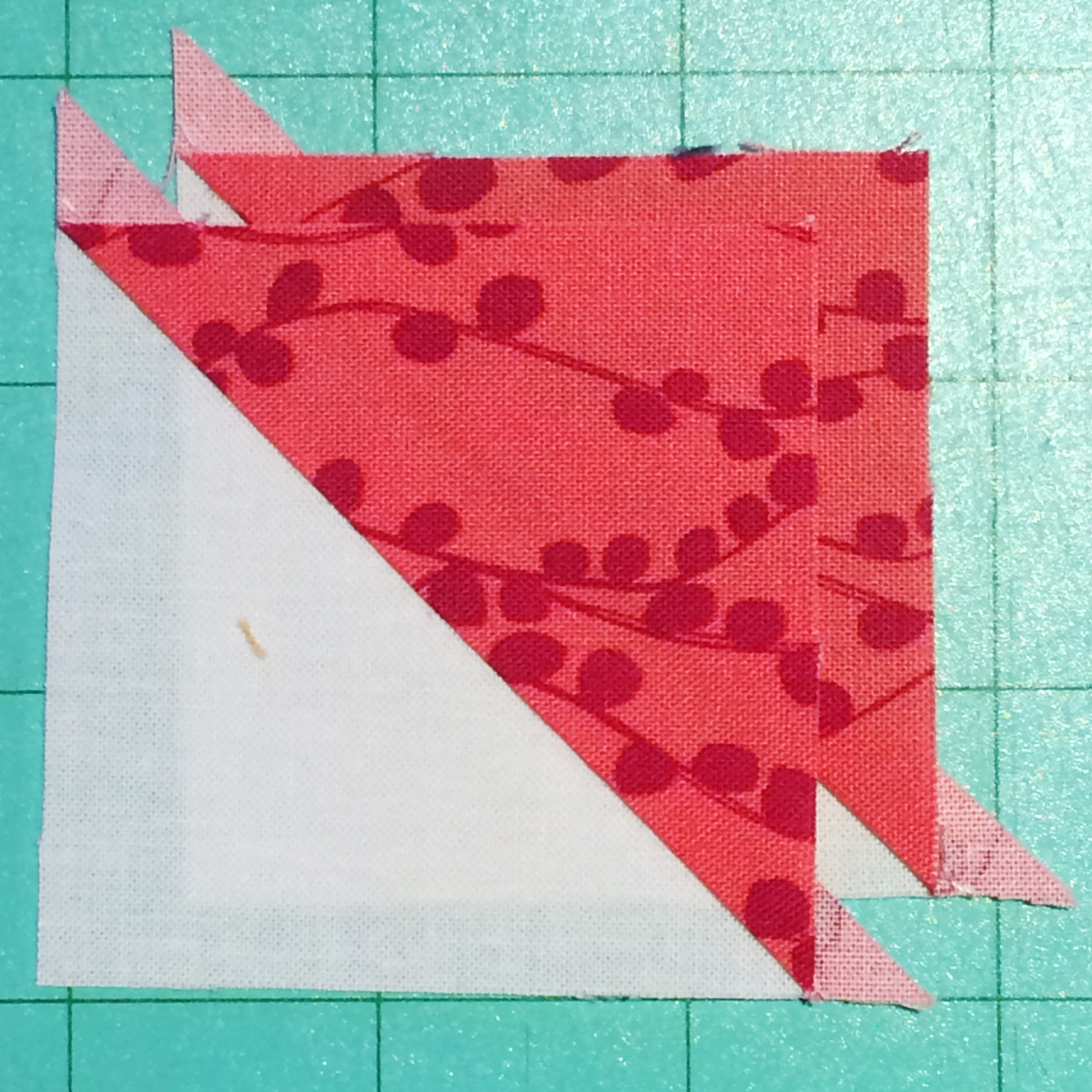 Half-Square Triangles Made Two Ways!