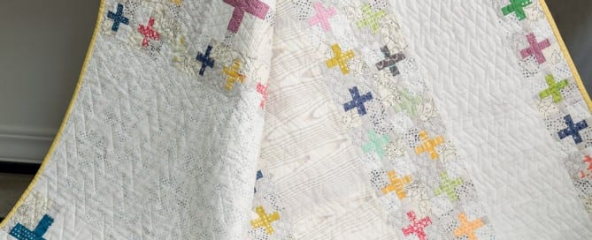 The Comfort Quilt from Modern Heritage Quilts by Amy Ellis - AmysCreativeSide.com