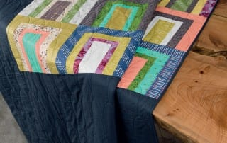 Tunnels from Modern Heritage Quilts by Amy Ellis - AmysCreativeSide.com