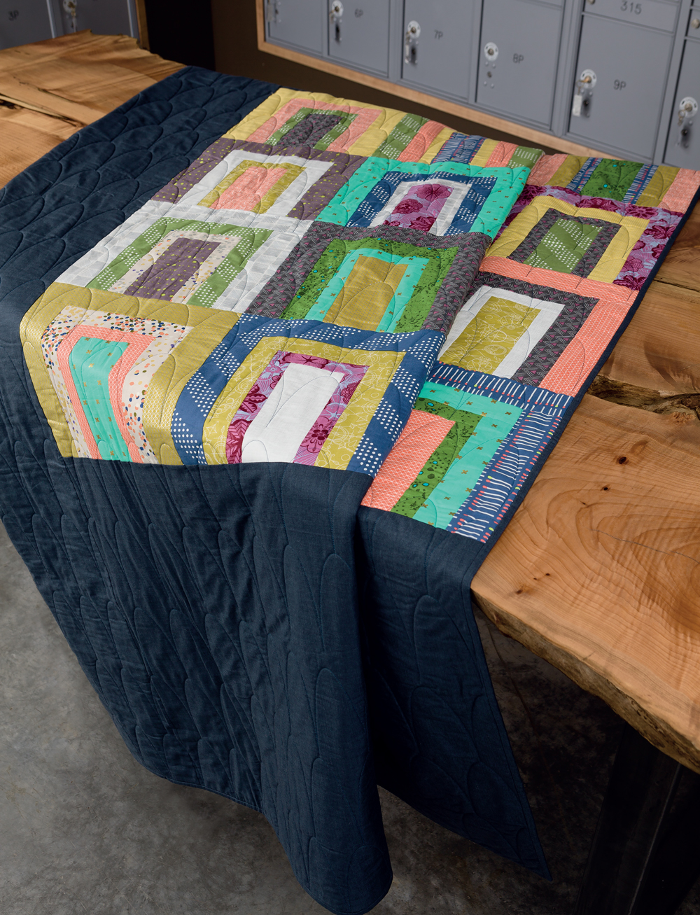 Modern Heritage Quilts :: Tunnels