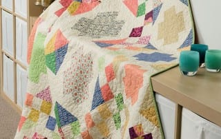 The Wedding Quilt from Modern Heritage Quilts by Amy Ellis - AmysCreativeSide.com