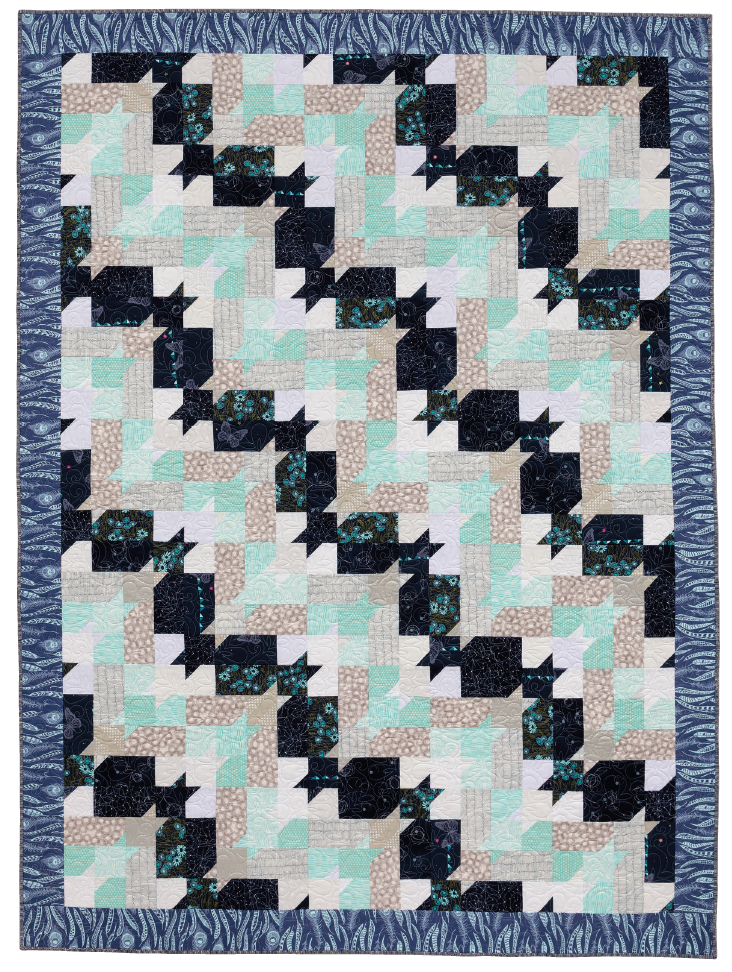 Soaring from Modern Heritage Quilts by Amy Ellis - AmysCreativeSide.com