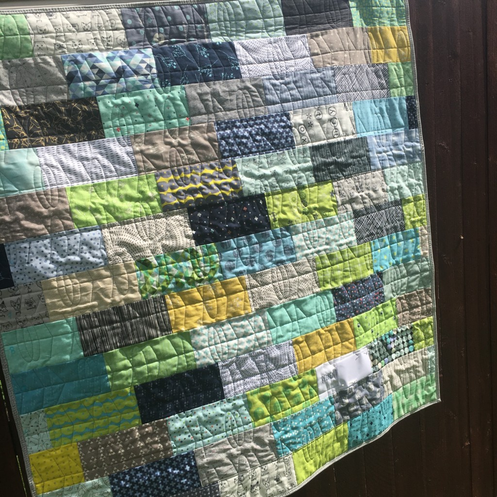 Baby Boy Quilt - AmysCreativeSide.com