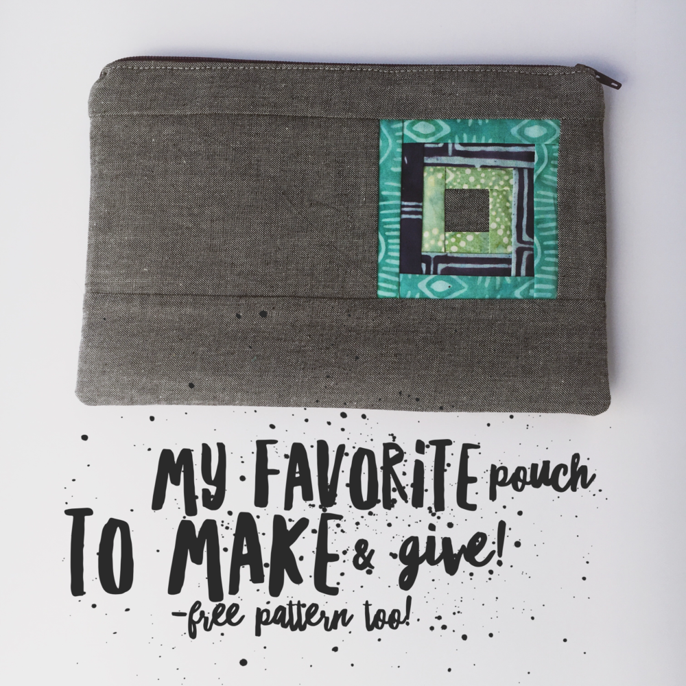 My Favorite Pouch :: Tutorial & Pattern