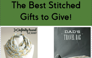 The Best Stitched Gifts to Give! AmysCreativeSide.com