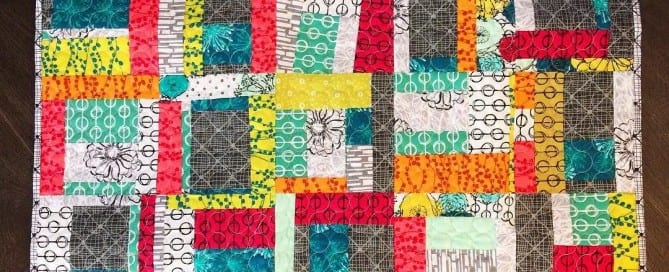 Improvised Hand Maker Quilt by Amy Ellis - AmysCreativeSide.com