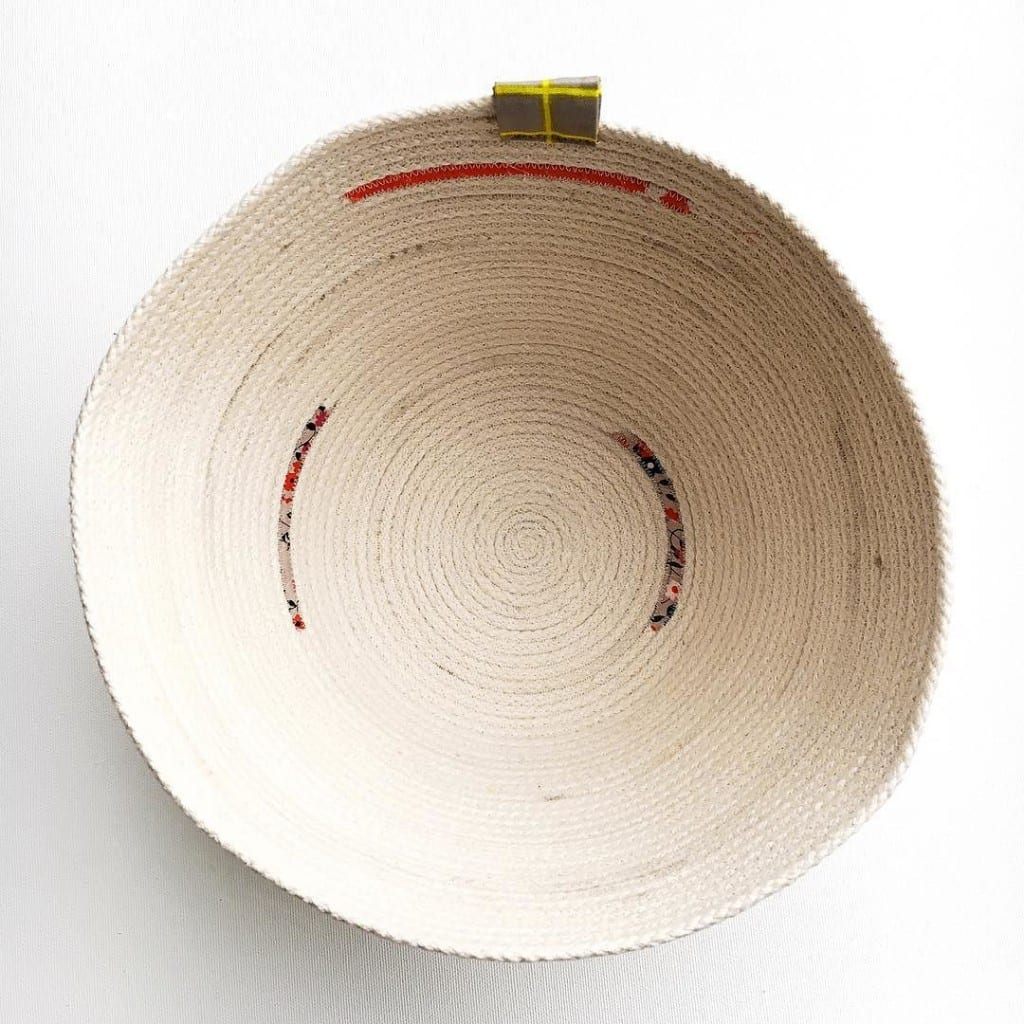 Rope Bowl made by Amy Ellis