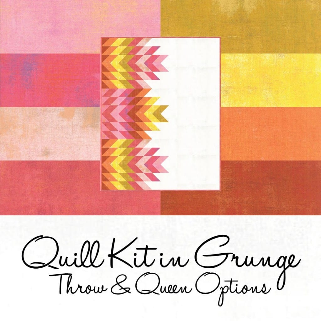 Quill Pattern Kit in warm colors - AmysCreativeSide.com