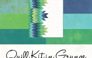 Quill Pattern Kit in Cool colors Queen size available too! - AmysCreativeSide.com