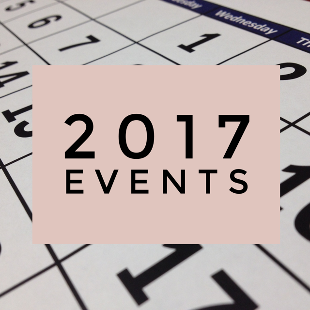 2017 Teaching and Online Events