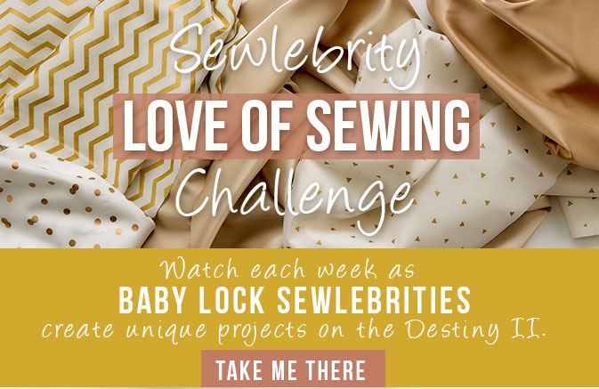 Love of Sewing Challenge - AmysCreativeSide.com
