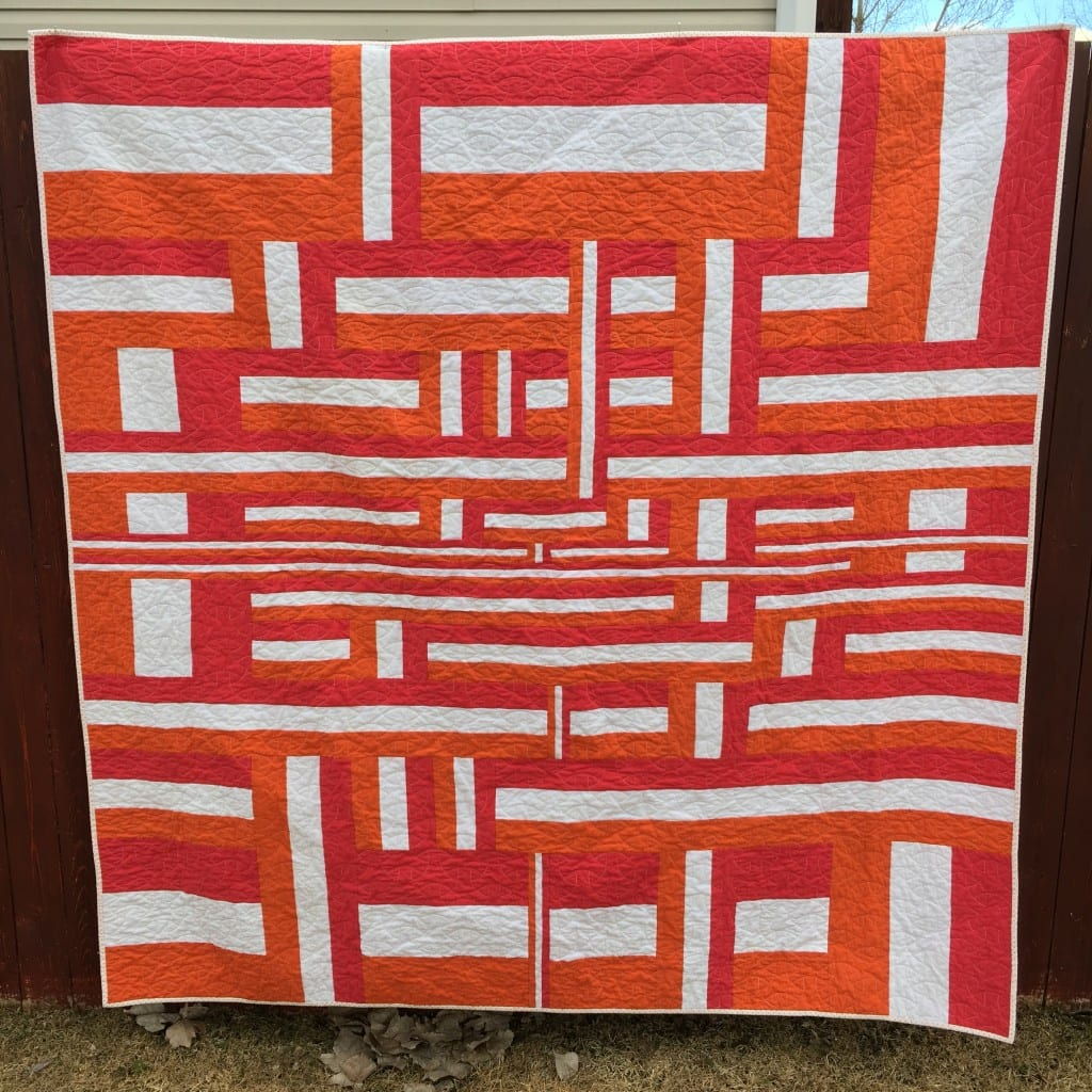 Off the Rails Quilt by Amy Ellis - Free Pattern at AmysCreativeSide.com